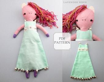 Plush Pony Pattern, Felt Plush Toy, Felt Pony, Sewing Pattern, Felt Pony Pattern, Fashion Pony, Felt Pattern, Pony Sewing Pattern, Horse PDF