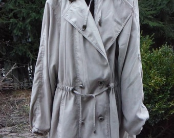Jacqueline Ferrar 1980's Women's Trenchcoat/Over coat