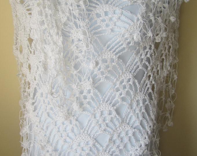 Crochet shawl, CROCHET WEDDING SHAWL, crocheted scarves, crocheted shawls wraps, wrap scarf, shawl scarf,scarf shawl, wrap scarves,  stoles