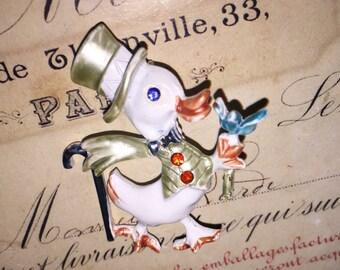 Vintage Gentleman Duck Pin