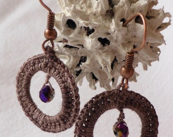bamboo fiber earrings