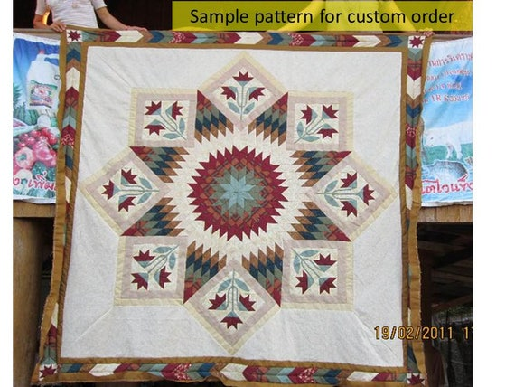 Rose Lone Star Quilts Broken Star Quilts Queen King Size