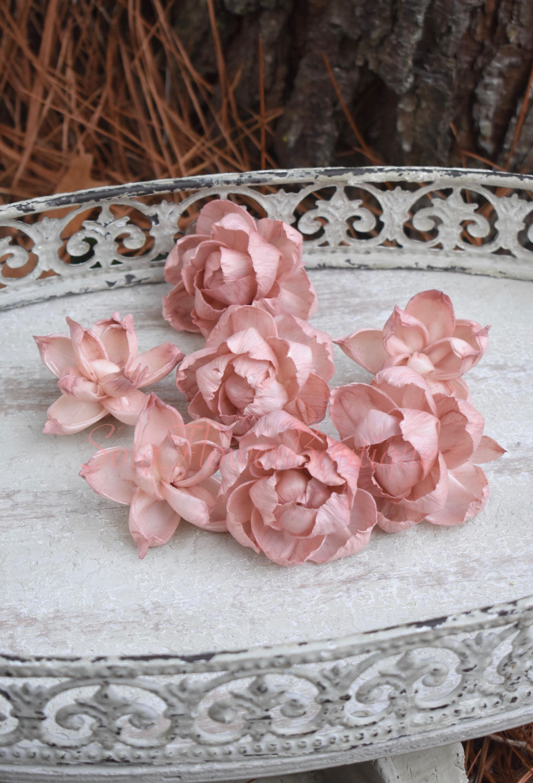 Dozen 12 sola flowers dusty pink sola flower diy sola flower dusty 1800 izmirmasajfo