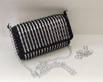pop tab purse crochet pattern