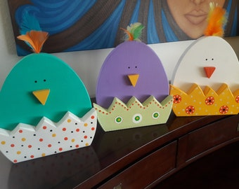 These Easter chicks are cute and a great item to decorate for Easter.