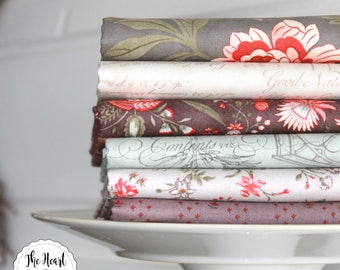Quill by 3 Sisters for Moda ~ 6 Fat Quarter Bundle