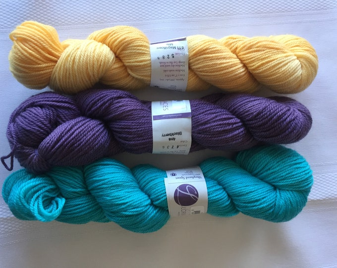 Lorna's Lace Shepherd Sport Yarn Superwash Merino - Bundle