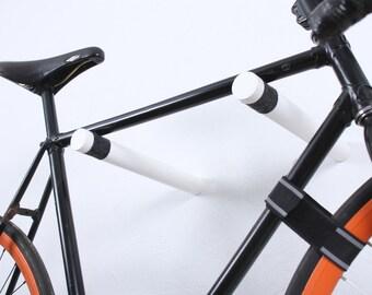 Copenhagen - Bike rack / bike hooks / bicycle storage / White