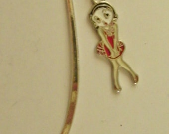 Betty Boop Bookmark ~Red Dress