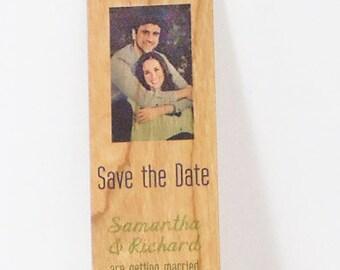 Wood Veneer Bookmarks