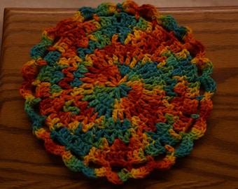 DOWNLOAD TODAY- Fiesta Dishcloth Crochet Pattern for Instant Download