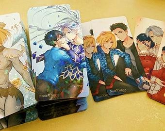 Victuuri Otayuri YOI Holographic Bookmarks