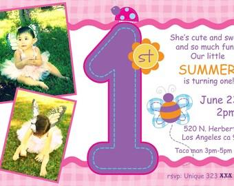 Baby's 1st Birthday Invitation