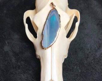 Genuine Gemstone Agate Pendant