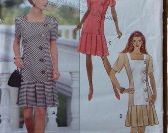 UNCUT Butterick 6198 Misses Dress