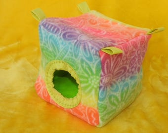 Cube 7x7x7 inches - for rats/sugar gliders/small birds