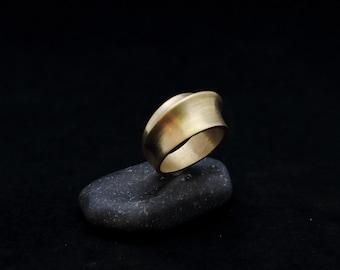 COGIA ring : modern bronze ring