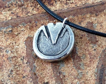 Barefoot Horse Hoof Necklace, Rustic Horse Jewelry, Horse Lover Gift, Bare Hoof, Natural Hoof Care, Barefoot Trimmer Gift