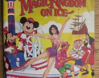1983 Walt Disney Magic Kingdom on Ice Program Collectible