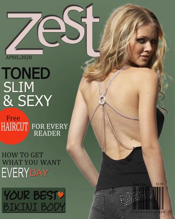 Pele la portada de la revista 1 plantilla de 8 x 10