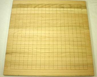 Goban (Go) board - Oak