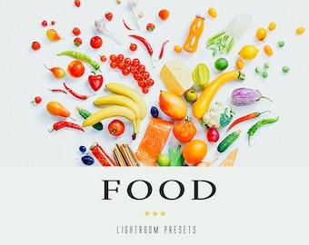 45 Food Lightroom presets