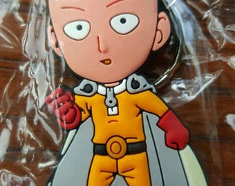 One Punch Man Saitama Key Chain