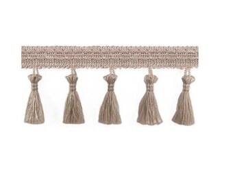 1 m beige Eyelash lace, lace curtains with lace trim tassel trim fringe