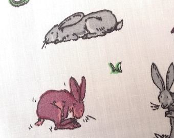 Guess How Much I Love You Rabbit Fabric-2 colours