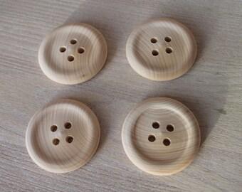 """Button/big buttons/2""""/wooden buttons"""