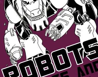 Digital Transformers Sketchbook by Boo Rudetoons