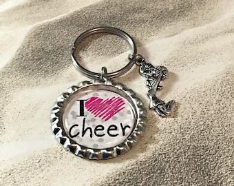 Cheerleader Gift for Cheerleader Gifts for Cheerleaders Gift for Cheerleaders Keychain Cheer Keychain Cheer Gift for Cheer Gift Cheer Coach