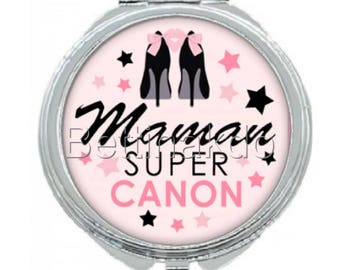 "POCKET MIRROR ""CANON SUPER MOM"""