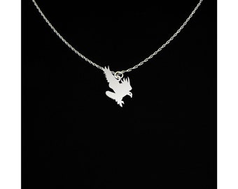 Eagle Necklace - Eagle Jewelry - Eagle Gift