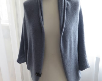 Cashmere cardigans for women , cardigan sweater , cocoon cardigan , open cardigan , white cardigan womens , cashmere wrap , bridal cardigan