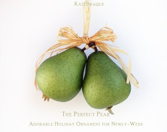 The Perfect Pear Ornament