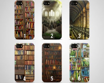 Book Phone case Books iPhone case 7 plus X 8 6 6s 5 5s se s galaxy samsung case s8 s7 edge s6 s5 s4 note 4 gift cover library art poster
