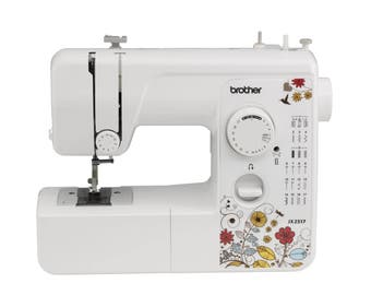Brother 17 Stitch Sewing Machine Portable Lightweight Bobbin Stitch Mending NEW