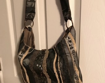 Hand made silky feel purse