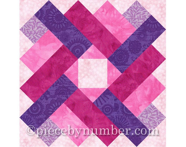 Siena Square quilt block pattern paper pieced quilt patterns : paper quilt patterns for kids - Adamdwight.com