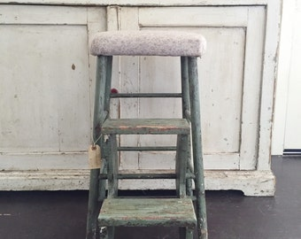 Victorian Folding Stepstool (pick up only)