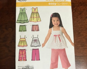 Simplicity Easy to Sew 4203 Toddler Pattern