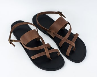 Strappy Men Sandals, Sandals, Leather sandals, mens leather sandals