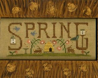 Scenes Of Spring-Cross Stitch Pattern