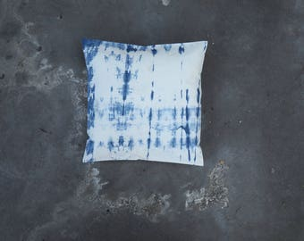 Lorraine // Pillow // One of a kind // Handmade // Blue