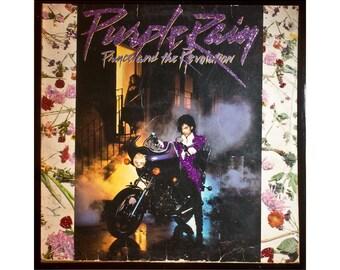 Glittered Prince Purple Rain Album