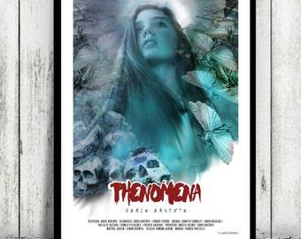 PHENOMENA - Dario Argento - movie poster / print [ horror ] Jennifer Connelly Daria Nicolodi Dalila Di Lazzaro Donald Pleasence