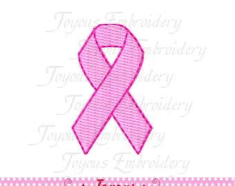 Instant Download Mini Awareness Ribbon Filled Stitches Machine Embroidery Design NO:2178