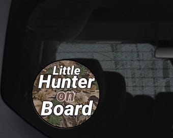 hunter baby, hunter baby gift, hunter baby shower, baby on board, baby on board car, baby on board sign, baby on board car sign