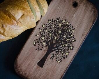 Custom Wood Cutting Board Farmhouse decor Kitchen accessories Serving Board Cheese Board Bread board Rustic home decor